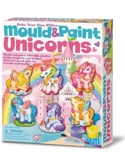 4M Mould and Paint Unicorn