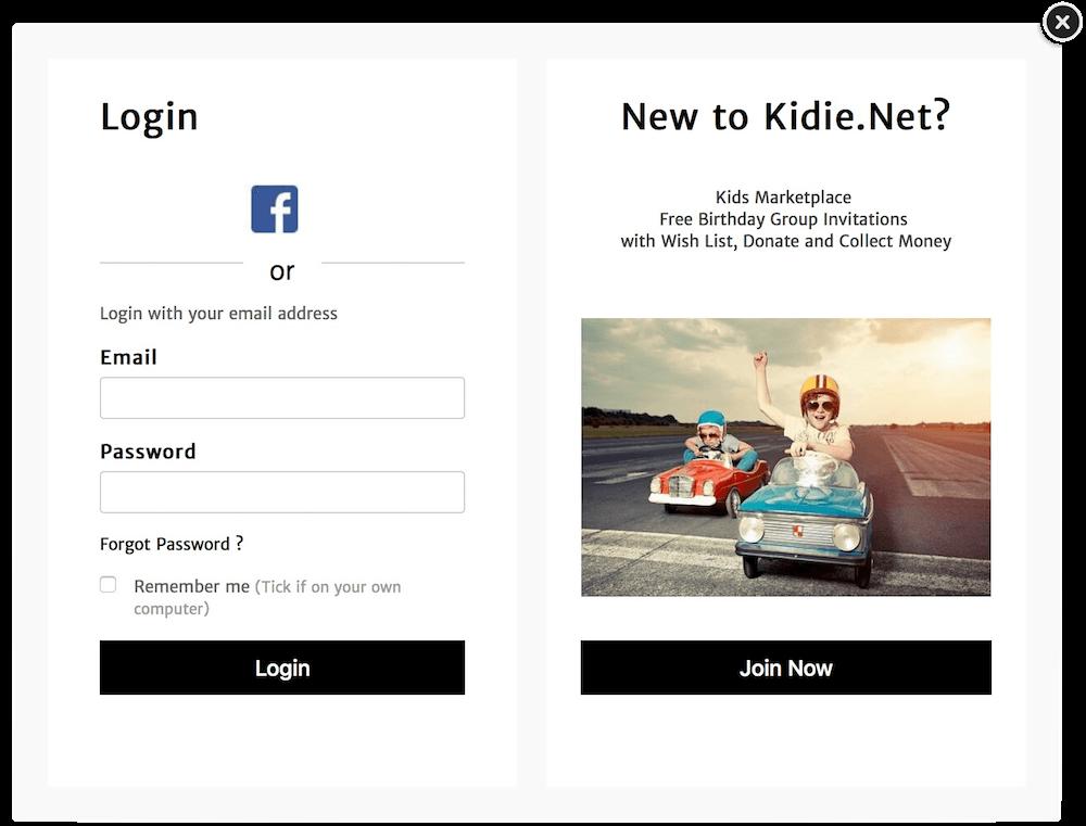 login-kidie-net